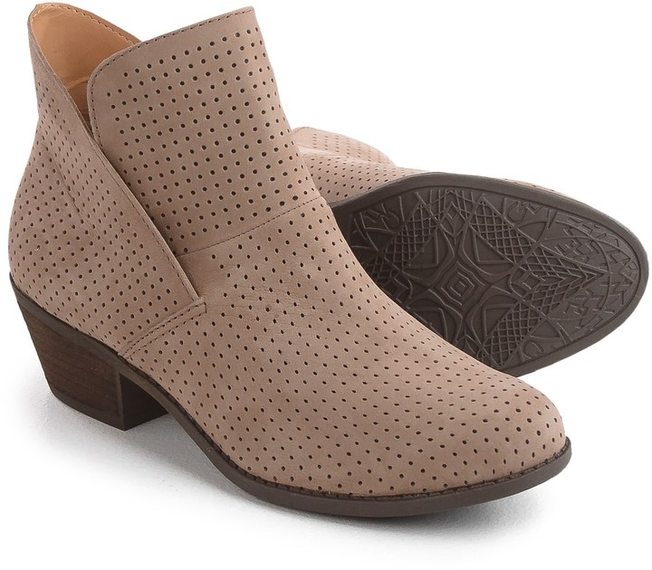 Me Too Zinnia Perforated Leather Boots (For Women)