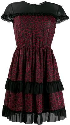Liu Jo leopard print flared dress