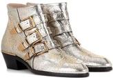 Chloé Susanna Leather Ankle Boots