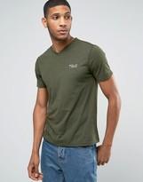 Polo Ralph Lauren Regular Fit Vneck Logo T-Shirt in Green