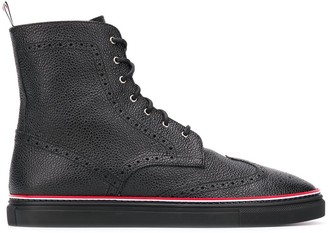 Thom Browne Rubber Cupsole Wingtip Boot