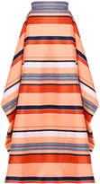 Christian Siriano California Stripe Overlay Skirt
