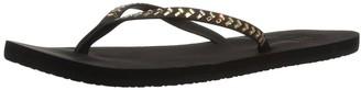 Reef Women's Bliss Embellish Premium Vegan Leather Flip Flop