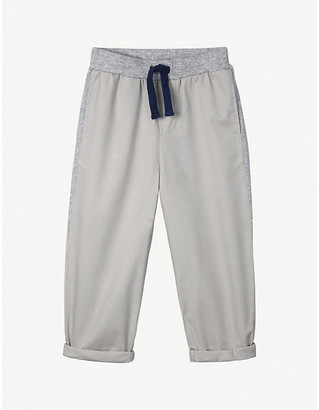 The Little White Company Panelled cotton-twill trousers (1-6 years)