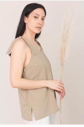 Beaumont Organic Maggie Cami - XS / Khaki