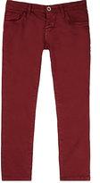 Nupkeet Stretch-Cotton Twill Pants-BURGUNDY