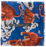 Gucci Bengal scarf - men - Silk/Modal - One Size