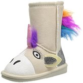 Muk Luks Kids' Animal Natural Unicorn Pull-On Boot