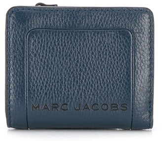 Marc Jacobs The Box textured compact wallet