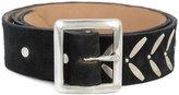 Calleen Cordero Ennio 1.5 belt - women - Leather/Nickel - 80