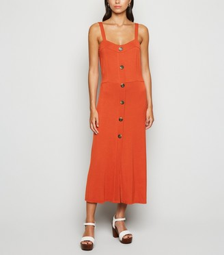 New Look Cameo Rose Jersey Midi Dress