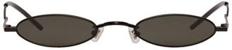 Gentle Monster SSENSE Exclusive Black Vector Sunglasses