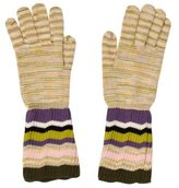 Missoni Patterned Wool Gloves