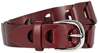 Isabel Marant Zak Braided Leather Belt