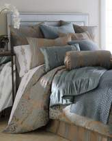 Fino Lino Linen & Lace King Tiara Duvet Cover