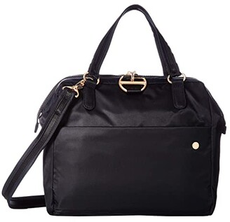 Pacsafe Citysafe CX Anti-Theft Satchel (Black) Handbags