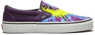 """Vans Classic slip-on """"Tie-Dye"""" sneakers"""