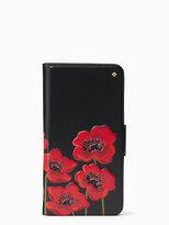 Kate Spade Poppy folio iPhone 7 plus case