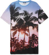 Balmain - Oversized Printed Cotton-Jersey T-Shirt