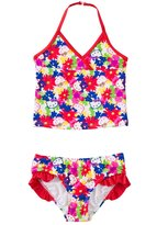 Hello Kitty Girls' Poppy Petals Tankini Two Piece Set (2T4T) - 8129632