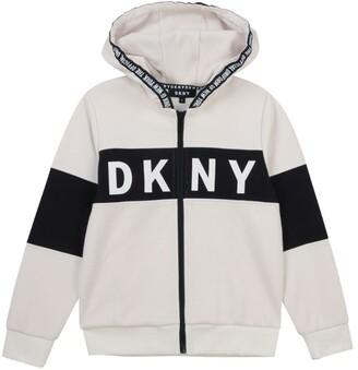 DKNY Logo Hoodie (6-16 Years)
