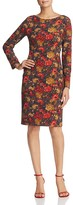 St. Emile Boa Floral Print Sheath Dress