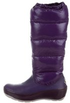 Moncler Knee-High Quilted Boots