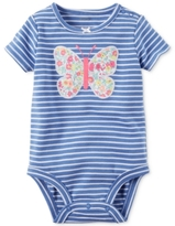 Carter's Striped Butterfly Bodysuit, Baby Girls (0-24 months)