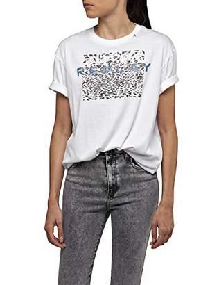 Replay Women's W3232b.000.22536p T-Shirt,Medium