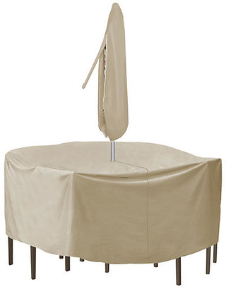 Protective Covers Round Table & Chair Cover - Tan