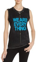 Freecity FREE CITY Studded Graphic Tank