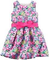 Carter's Floral Dress (Toddler/Kid) - Multi Floral-4
