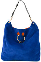 J.W.Anderson large Pierce tote - women - Suede - One Size