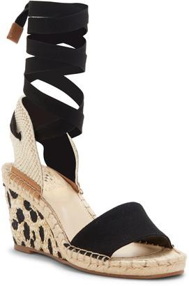 Vince Camuto Levernta Lace-Up Platform Sandal