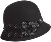 Betmar Golden Glow Cloche Hat (For Women)