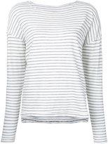 Current/Elliott striped top - women - Cotton - 1