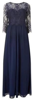 Dorothy Perkins Womens **Showcase Navy 'Rosaline' Lace Maxi Dress, Navy