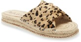 Matisse Cruise Espadrille Slide Sandal