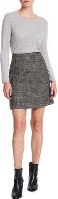 Marcs Plaid Mini Skirt