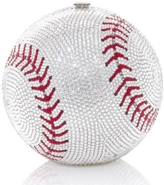 Judith Leiber Baseball Ball sphere-shaped clutch