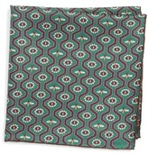 Gucci Men's Pearl Bee Pocket Square