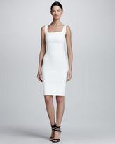Lanvin Sleeveless Square-Neck Sheath Dress