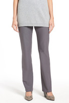 Eileen Fisher Washable Stretch Crepe Bootcut Pants