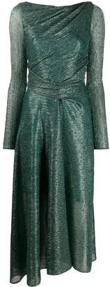 Talbot Runhof Sheer Gown