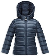 Moncler Girls' New Iraida Packable Down Puffer Jacket - Big Kid