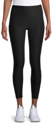 Layer 8 Women's Active 7/8 Pieced Leggings with Pockets