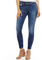 True Religion Jennie Curvy Raw Hem Waist Skinny Jeans