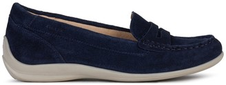 Geox Yuki Suede Loafers