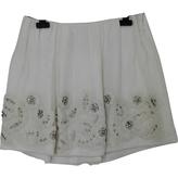 Chloé Silk Mini Skirt