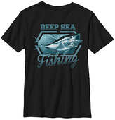 Fifth Sun Black 'Deep Sea Fishing' Tee - Boys